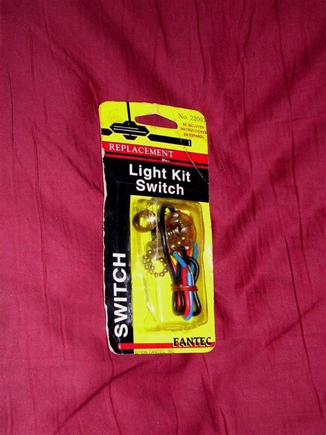 pull chain light switch pull chain light switch kit replacement ceiling fan fantec