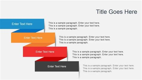 how to create template in powerpoint animated flat diagrams powerpoint template