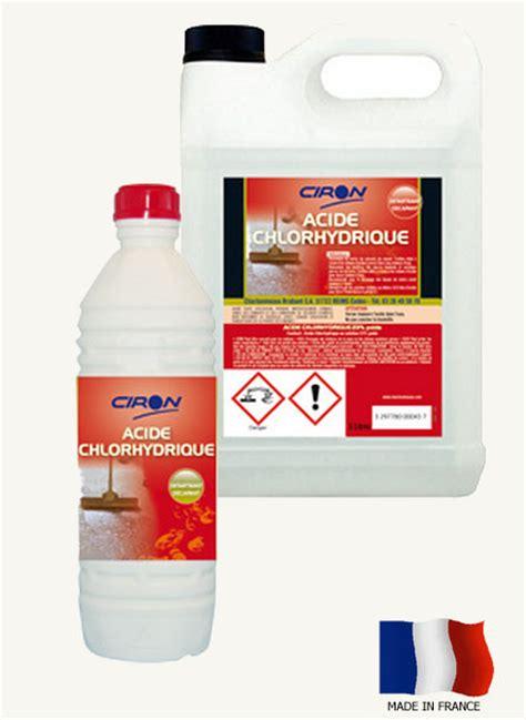 Detartrer Wc Avec Acide Chlorhydrique by Acide Chlorhydrique 23 Achat D 233 Tartrant Acheter Ph