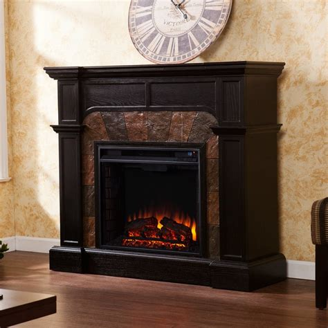 Boston Fireplace by Shop Boston Loft Furnishings 45 5 In W 4700 Btu Wood