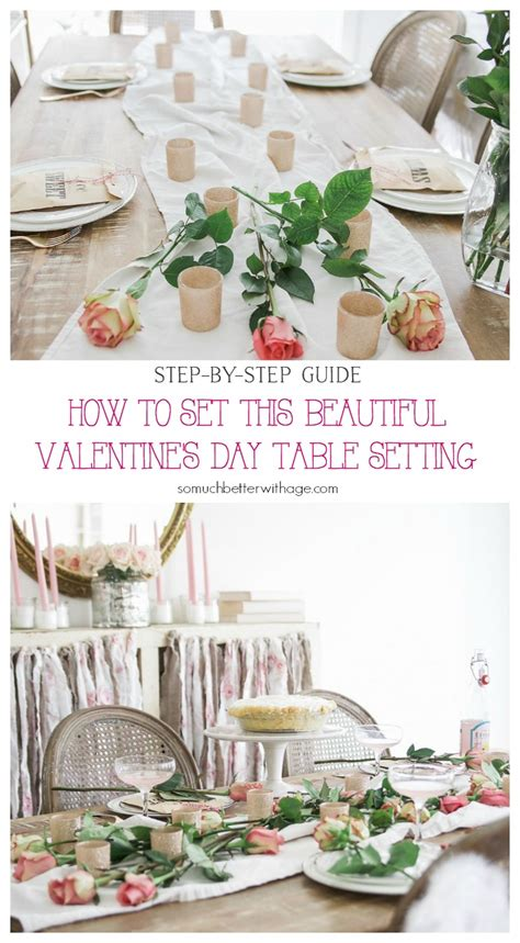 s day table settings how to set a beautiful s day table setting a