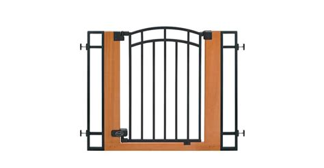 pressure mounted swing gate summer infant 07534z wood and metal walk thru pressure