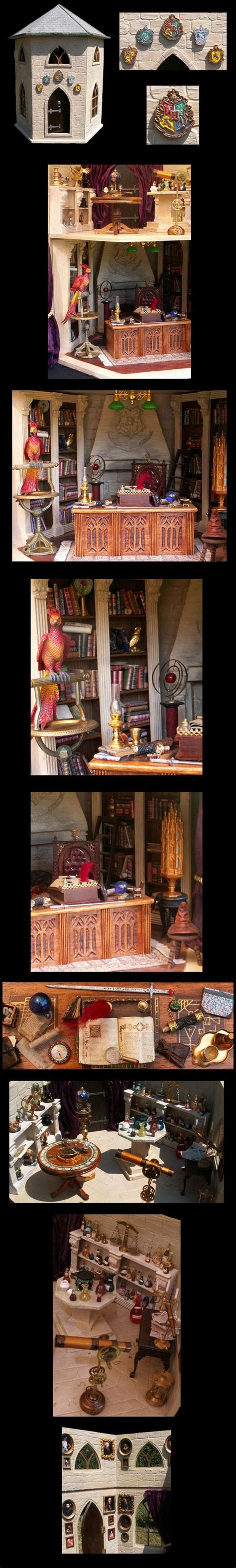 harry potter dolls house hogwarts towers and doll houses on pinterest