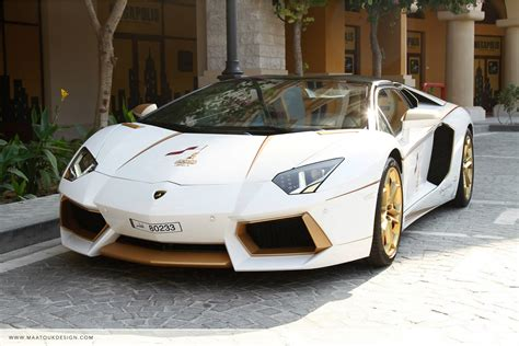 lamborghini gold and white meet the one off gold plated lamborghini aventador