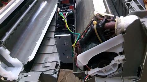 fujitsu mini fan motor replacement daikin mini drainpan changeout youtube