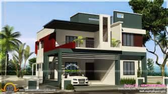 Kerala Home Design Duplex Duplex House Contemporary Style Kerala Home Design And