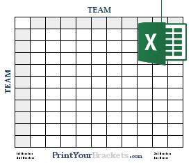 Free Football Square Template by Excel Spreadsheet Bowl Square Grids
