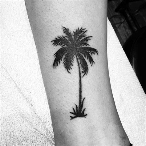simple palm tree tattoo 50 simple tree designs for forest ink ideas