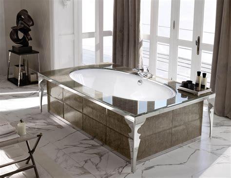 high end bathtubs milldue majestic 02 gold alligator glass high end italian