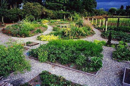 House Plan Rectangle With Courtyard Herb Garden Design