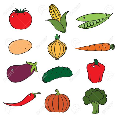 Vegetable art clipart   Clipground