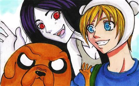 imagenes anime de hora de aventura hora de aventura by paula govea by doonmangazine on deviantart