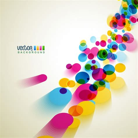 imagenes vectoriales ai coloridos c 237 rculos vectoriales de fondo descargar