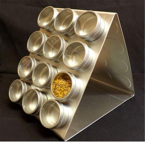 portaspezie design porta spezie magnetico in acciaio satinato orodorienthe