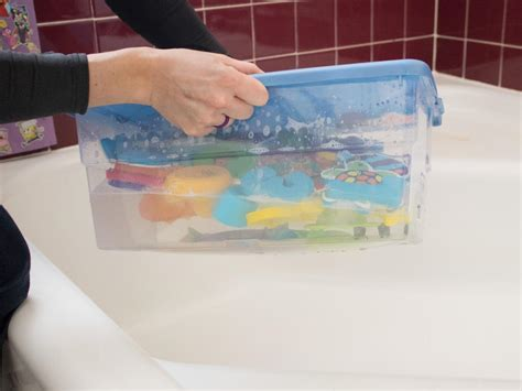 cleaning acrylic bathtub learn how to clean bath toys the easy natural way how