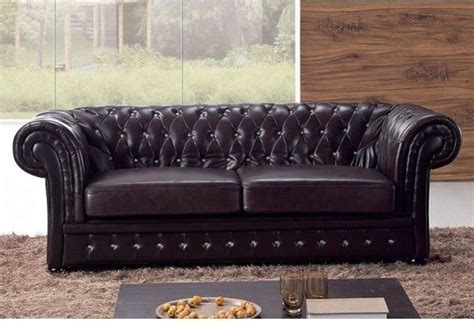 Comfortable Leather Sofa Leather Chesterfield Sofa Comfortable Loccie Better Homes Gardens Ideas