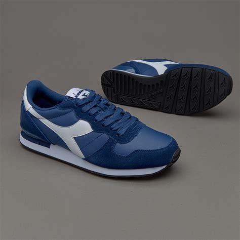 Sepatu Basket Merk Fila sepatu sneakers diadora camaro leather saltire navy
