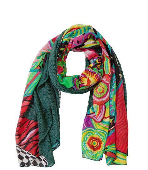desigual scarf mixto creazy 57w54d6 canada
