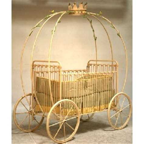 Princess Carriage Crib by Pumpkin Carriage Iron Crib The Frog And The Princess