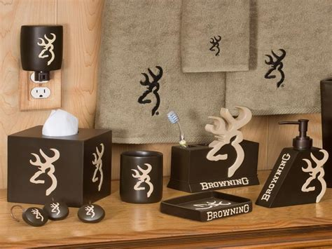 Browning Bathroom Accessories Browning Home Decor 28 Images Deer Decor On Cabin Decor Browning Bathroom Set 28 Images