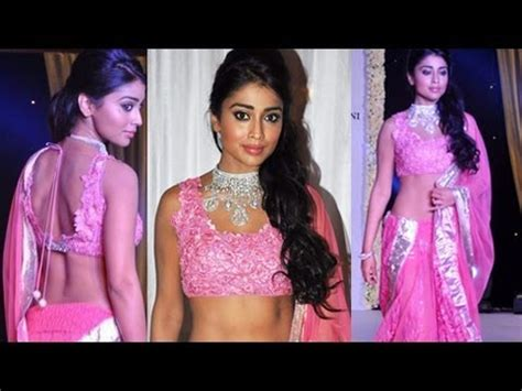 Smaller Line Blouse Hq shriya saran in pink backless small blouse