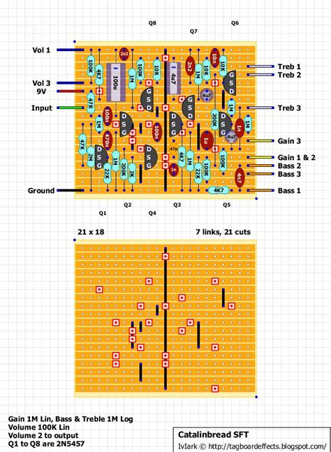zendrive layout dumble pedal schematic guitar fx layouts hermida