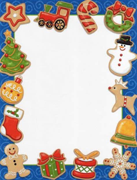 christmas letter borders