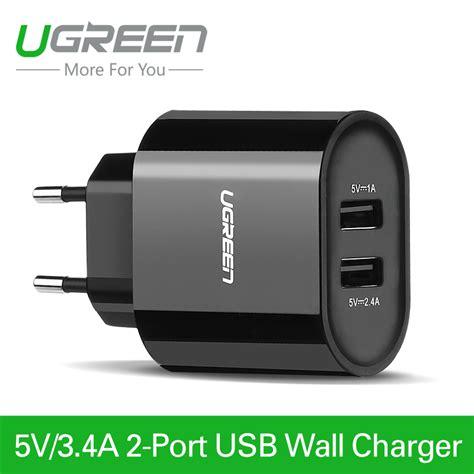 Universal Travel Adapter Bst 631 4 Smart Usb Charging Port 5a ugreen 5v 3 4a universal travel usb charger adapter wall portable eu uk mobile phone smart