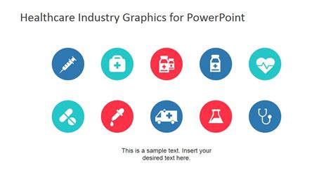 graphics templates free healthcare industry graphics for powerpoint slidemodel