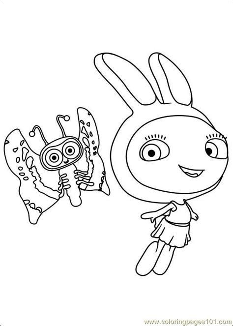 waybuloo  coloring page  miscellaneous coloring