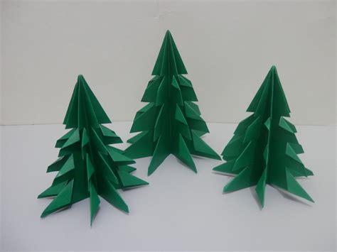 Origami Natal - arvore de natal de origami freewords