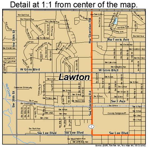 Lawton Ok Search Map Of Lawton Oklahoma Wisconsin Map