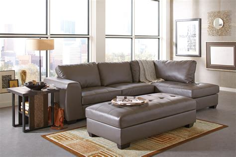 Ottoman For Sectional U Shaped Sectional With Ottoman Ideas All About House Design