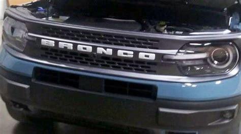 bronco sport  offer  grille options modern