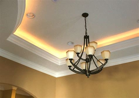 Lights On The Ceiling Tray Ceiling Paint Home Design Exles
