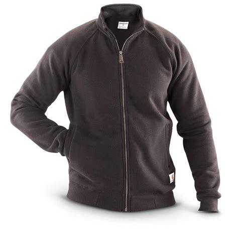 carhartt s mid weight mock neck zip front sweatshirt