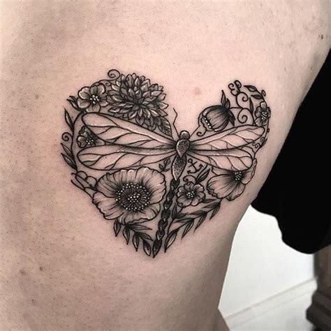 dragonfly and flower tattoo designs 25 best ideas about dragonfly design on