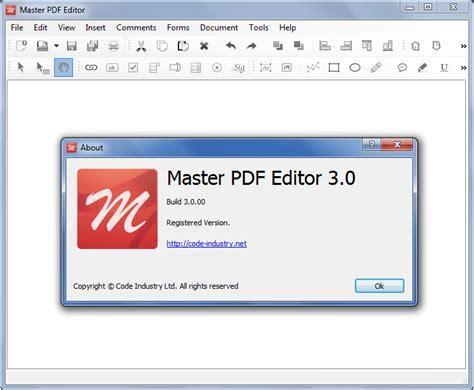 master  editor
