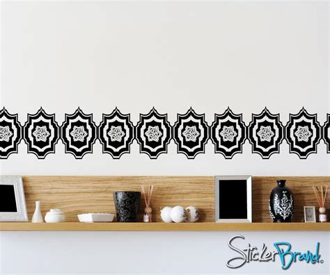 moroccan pattern wall decal vinyl wall decal sticker moroccan pattern os aa117