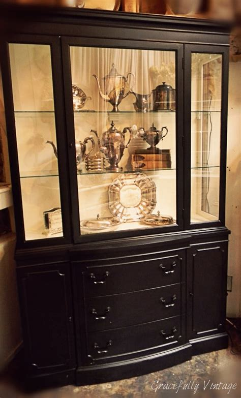 1000 ideas about black hutch on black painted