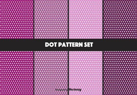 dot pattern system purple dot pattern vector set download free vector art