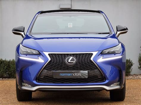 blue lexus nx used ultra blue lexus nx 200t for sale dorset