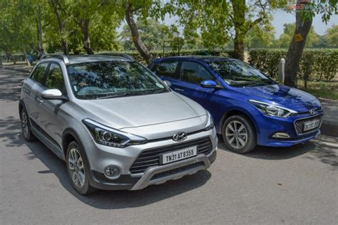 hyundai i20 active hyundai elite i20 vs active i20 specs design comparison