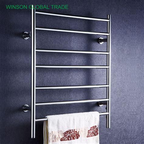heated towel holder icd50016 304 stainless steel heated towel rail banheiro