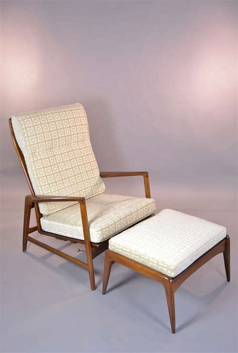 Selig Furniture by Selig Chair And Ottoman At 1stdibs