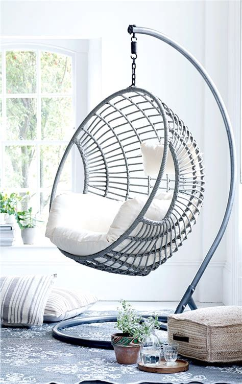 indoor hanging chair for bedroom get creative with indoor hanging chairs urban casa