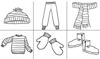 Printables Clothes Google Zoeken Thema Kleren Coloring Pages Of Winter Clothes