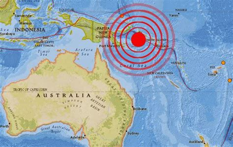 earthquake new caledonia magnitude 7 2 earthquake struck in pacific near vanuatu