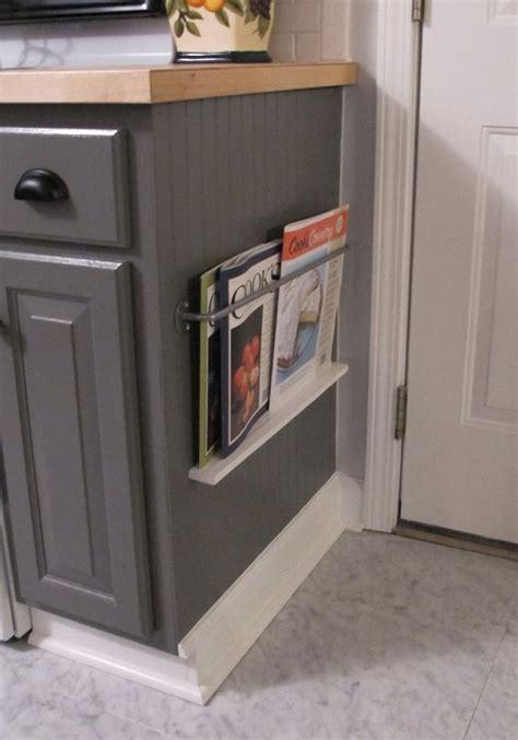 kitchen cabinet magazine kitchen magazine rack diy 183 how to make a storage unit