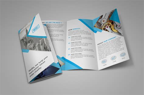 25 Tri Fold Brochure Templates Psd Ai Indd Free Premium Super Dev Resources Flyer Template Illustrator